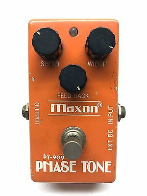 Maxon PT-909, Phase Tone, Phaser, Made In Japan, 1970's, Guitar Effect Pedal