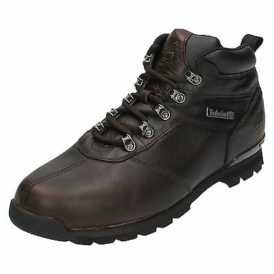 e19697751d1a3 TIMBERLAND SPLITROCK 2 A11WH Mens Brown Leather Lace up Ankle Boots (36A)