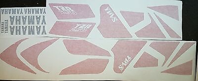 YAMAHA TZR250 2MA COMPLETE PAINTWORK DECAL SET