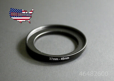 37-46 MM 37 MM 46 MM 37 to 46 Step Up Ring UV CPL Metal Filter Adapter Accessory