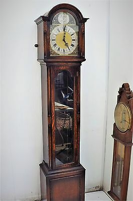 Long cased  clock musical 1900's
