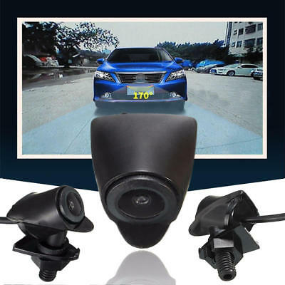 170° CCD Car Front View Camera Wide Degree Logo Embedded For Toyota Waterproof