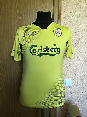 Liverpool #England 2004/2005/2006 #Away Football Shirt Jersey Maglia #Reebok