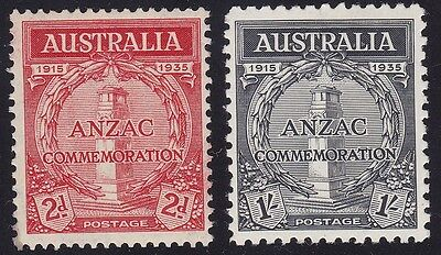 1935 AUSTRALIA - SG 154/155 set of 2  MNH/**