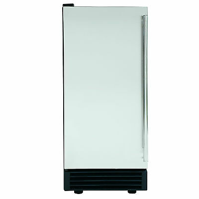REFURB 14.6in Undercounter Built-In Energy Star Clear Ice Maker Maxx Ice MIM50