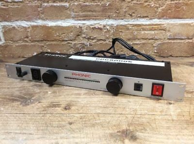 Phonic PPC9000E Power Conditioner and Light Module - 10 Outlet