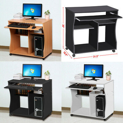 Computer Desk Home Office Furniture Workstation Study Laptop PC Writing Table
