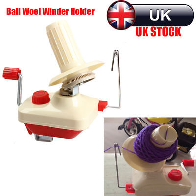 .Plastic and alloy Swift Yarn Fiber String Ball Wool Winder Holder Hand Operated