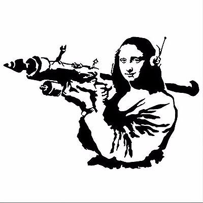Banksy Mona Lisa Mooning *DISCOUNTED OFFERS*  A3 New Poster Print A4