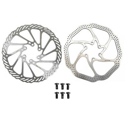 410 Stainless Steel Moutain MTB Bicycle Disc Brake Rotors 160mm 180mm incl. bolt