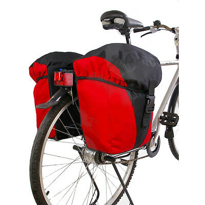 Go!Travel - Water Repellent Bicycle Pannier with Fast Release R&K System