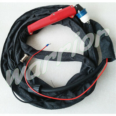 Air Plasma Cutting Torch Panasonic P80A Pilot Arc 12 Feet 4M Length Cloth Cover
