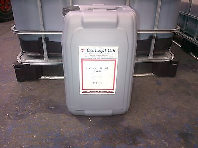 Hydraulic Oil Iso 46 In 25Ltr Large Drum,,,highest Quality Lowest Price On Ebay