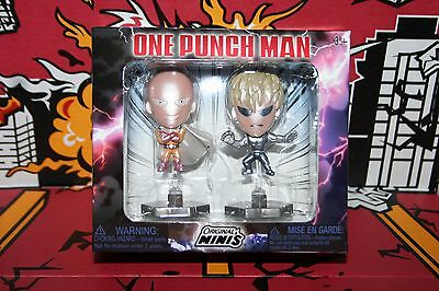 One-Punch Man Figure 2-pack Original Minis metallic Anime Loot Crate New in Box