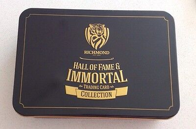 Limited Edition Richmond Hall Of Fame Card Set With Tin Matthew Richardson