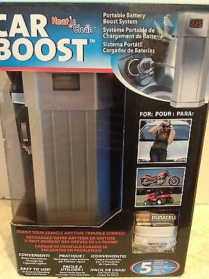 New Portable Car Truck Battery Boost Charger System
