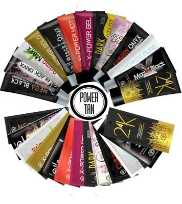 Power Tan Sunbed Tanning Accelerator Cream Lotions Best Sellers 250ml or 20ml