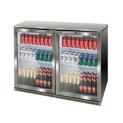 Airflo AFF022 210L Back Bar Cooler 2-Door 210L Fridge  Metro Only RRP $1499