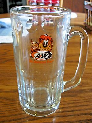 """2016 A&w Root Beer Mug  With Bear 7""""  Mint"""