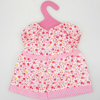 Pink Floral Dress Clothing Outfit for 18'' American Girl Gotz My Life Dolls