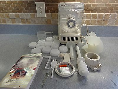 Popeil AUTOMATIC PASTA &  SAUSAGE MAKER Machine P400 + 12 DIES Accessories