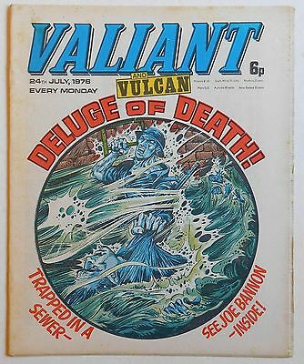 VALIANT and VULCAN Comic - 24th July 1976