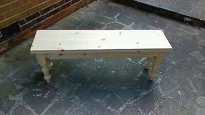 3ft,4ft,5ft,6ft Handmade solid pine farmhouse bench see description for prices