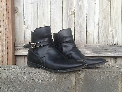 Vintage Men's 11 US The British Isles Collection Ankle Leather Boots Mod Beatles