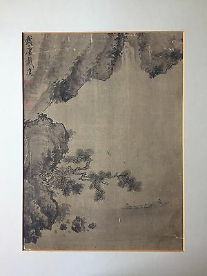 Antique Chinese Watercolor Painting Attributed to Dai Jing 戴進 (1388-1462)