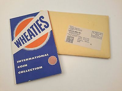 Vintage 1950s Wheaties International Coin Collection & Mystery Coin Collection