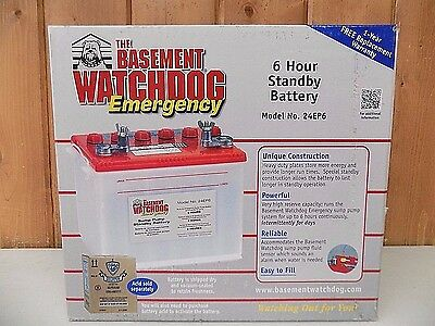 Replacement Sump Pump Battery Boat RV ~ New ~ Free Shipping