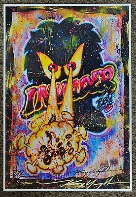 Legend Of The Invader Bitch! Print From Original Kenny Youngblood Jd Kline