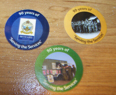 3th Spec. Issue (British) NAAFI  Pogs  Set from  2010 ,   AU. . Military Tokens