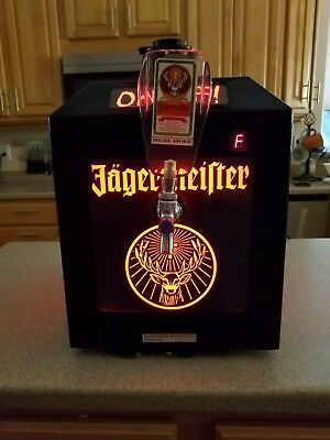 Jagermeister 3 Bottle Tap Machine Model JEMUS BAR SALOON MAN CAVE PARTY