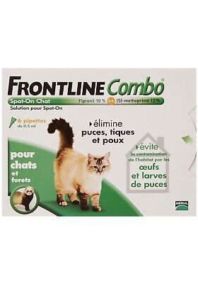 Frontline Combo Spot-On Chat - 6 pipettes