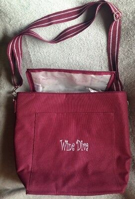 "THIRTY ONE Spirit Collection Insulated Thermal Tote Cooler ""Wine Diva"""