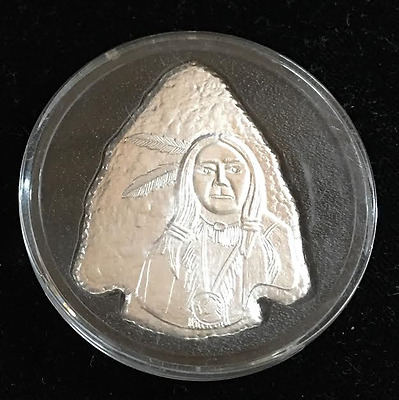 Fine Silver Arrow Head approximately 1oz  (77* 10960)