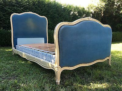 Vintage French PAIR Of Single Beds + Adjustable Slatted Bases Rare!