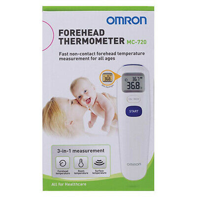 NEW Omron MC720 Forehead Thermometer