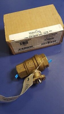 "WaterCop 3/4"" Low Lead Brass Water Shut Off Ball Valve"