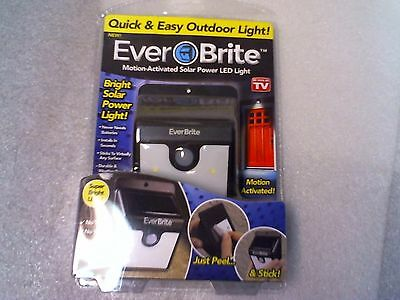 EverBrite Motion Activated Outdoor LED Light Bright Powered Wireless Security