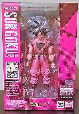 S.H.Figuarts Son Goku Kaiohken Version SDCC 2017 Exclusive In-Hand