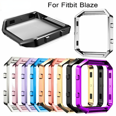 Polished Stainless Steel Metal Frame case For Fitbit Blaze watch Shell