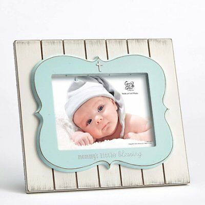 Mommy's Little Blessing Photo Frame, Blue by Enesco