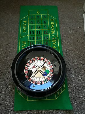 Casino Roulette Wheel Table Game