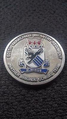 Coin - 82nd Airborne Division 505th PIR Commander's Challenge Coin #2788
