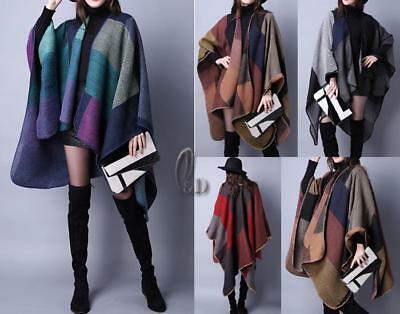 WHOLESALE BULK LOT OF 10 MIXE Style Blanket Poncho Cloak SCARF/SHAWL sc07071