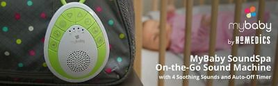 Mybaby by Homedics SoundSpa Clip & Go with Musical Lullaby