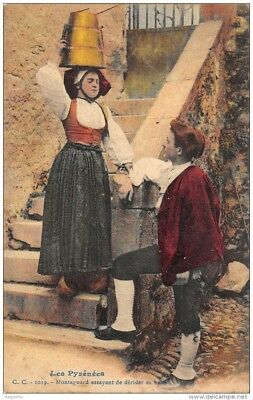 64-Folklore Des Pyrenees-Costumes-N°372-A/0103