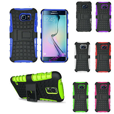 Heavy Duty Shock Proof Stand Military Builders Hard Case Cover Samsung S7 / Edge